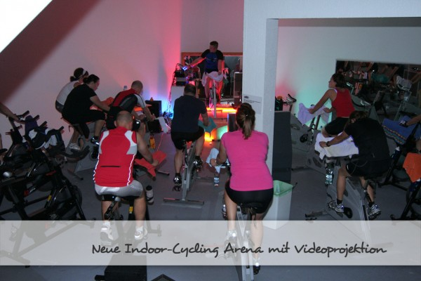 Rainer Zufall Family-Fitness Indoor Cycling Arena